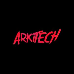 Arkitech Logo FX (Black BG)1