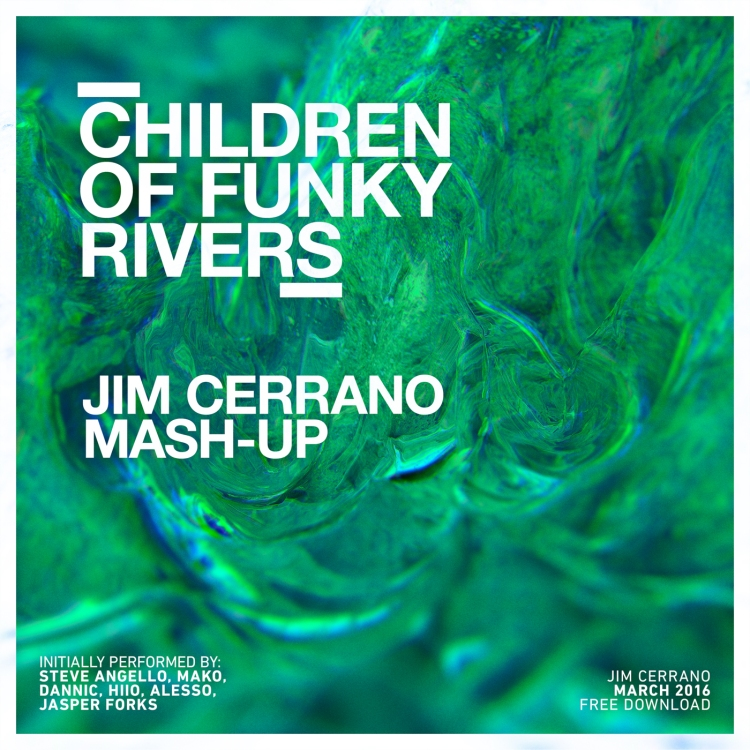 Jim Cerrano Children Of Funky Rivers Cover