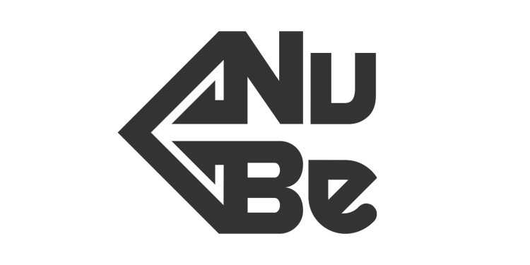 Nu Be Logo Guigraph Design