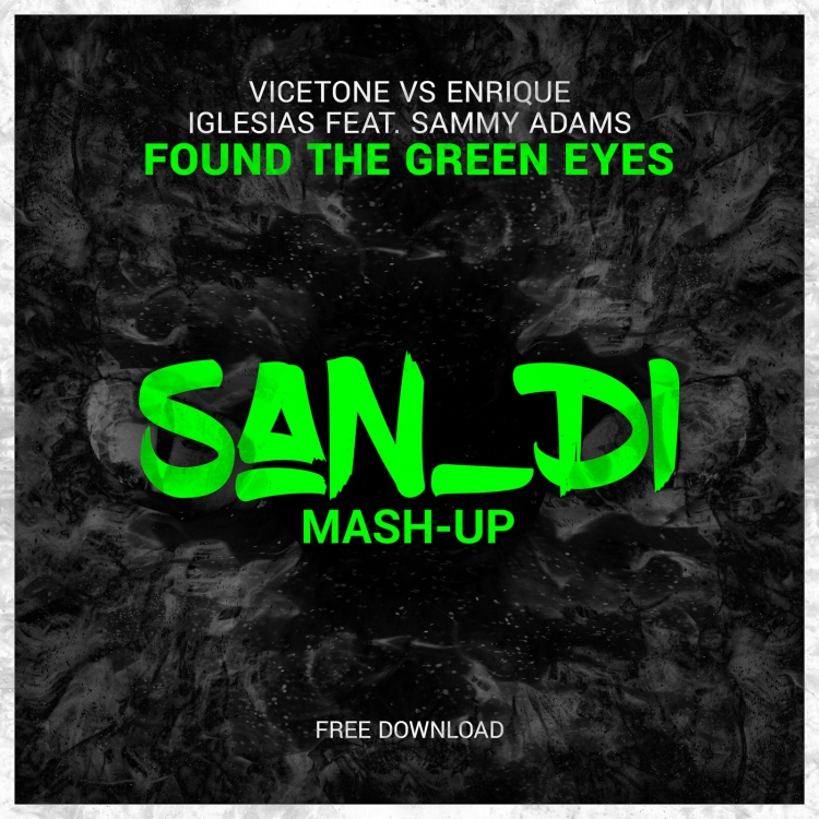 San_Di - Found The Green Eyes - Cover (1400)