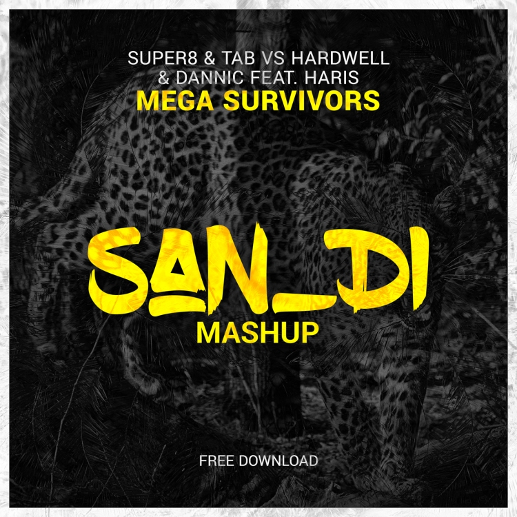 Mega Survivors - Cover